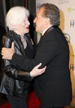 Olympia Dukakis and Jim Gianopulos