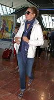 Celebrities at Nice Airport