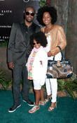 Wyclef Jean and Family