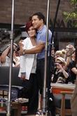 Sharon Osbourne and Mario Lopez