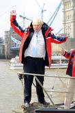 Boris Johnson, St Katherines dock