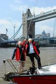 Boris Johnson and Sir Robin Knox-Johnston