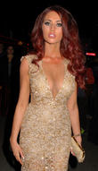 Amy Childs celebrates her birthday at Cafe de Paris