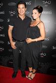 Mario Lopez and Courtney Lopez