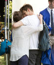 Andrew Garfield and Sally Field
