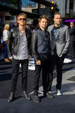 Dominic Howard, Matthew Bellamy, Chris Wolstenholme and Muse