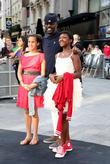 Idris Elba and daughters