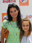 Angie Harmon and Daughter