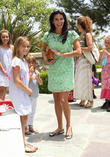 Angie Harmon and Daughters