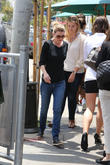 Ellen Pompeo is seen out and about in West Hollywood