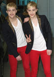 Jedward, John Grimes and Edward Grimes
