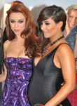 Una Healy and Frankie Sandford of The Saturdays