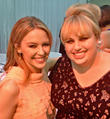 Rebel Wilson and Kylie Minogue