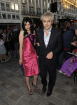 Nick Rhodes and Girlfriend Nefer Suvio