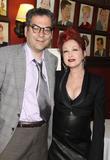 Michael Musto and Cyndi Lauper