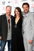 Joss Whedon, Amy Acker and Alexis Denisof