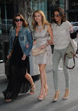 Alison King, Samia Ghadie and Shobna Gulati