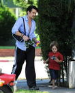 Colin Farrell and Henry