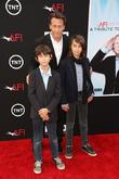 Steven Weber, Alfie Weber, Jack Weber, Dolby Theatre