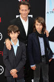 Alfie Weber, Steven Weber and Jack Weber