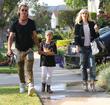 Gwen Stefani, Gavin Rossdale and Kingston Rossdale
