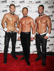 Ian Ziering Strips Off For Chippendales Debut