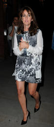Celebrities leaving Brooke Vincent's 21st birthday party