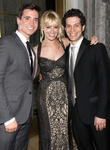 Beth Behrs, Matt Doyle and Thomas Kail