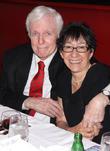 John McMartin and Amy Lieberman