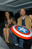 Joss Whedon and Amy Acker