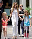 Denise Richards, Sam Sheen and Lola Rose Sheen