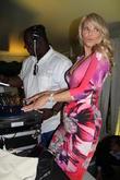 Dj Fresh and Christie Brinkley