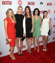 Julie Benz, Yvonne Strahovski, Jennifer Carpenter, Jaime Murray and Aimee Garcia