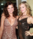 Heather Tom and Nicholle Tom