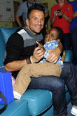 Peter Andre and Elijah Hyde