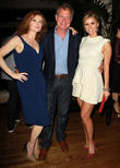 Rebecca Wisocky, Stephen Collins and Brianna Brown