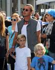 Gavin Rossdale, Kingston Rossdale and Zuma Nesta Rock Rossdale