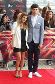 Caroline Flack and Matt Richardson