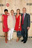 Laysha Ward, Rick Gomez, Lauren Bush Lauren and Bob Aiken