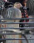 Kristen Bell Plays Paparazzi