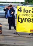 Peter Kay Filming On Location
