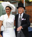 Bruce Forsyth and Wilnelia Marced