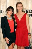 Lea Michele and Lauren Bush Lauren
