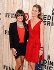 Lea Michele and Lauren Bush-Lauren