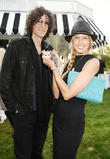 Beth Ostrosky Stern and Howard Stern