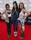 Jerry Bruckheimer, Guest and China Anne McClain