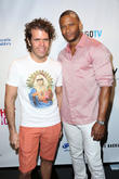 Perez Hilton and David Ramsey