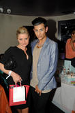 Daniella Westbrook and Junaid Ahmed