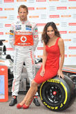 Jenson Button and Myleene Klass