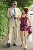 Stephen Fry and Kathy Lette